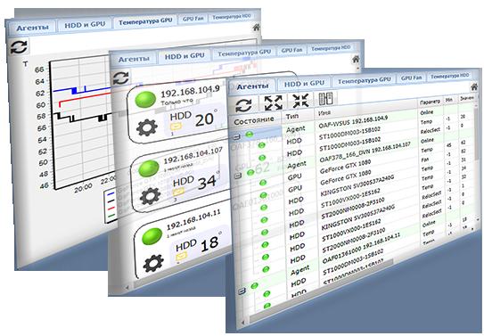 Stat-Online Онлайн мониторинг оборудования, параметров HDD и GPU